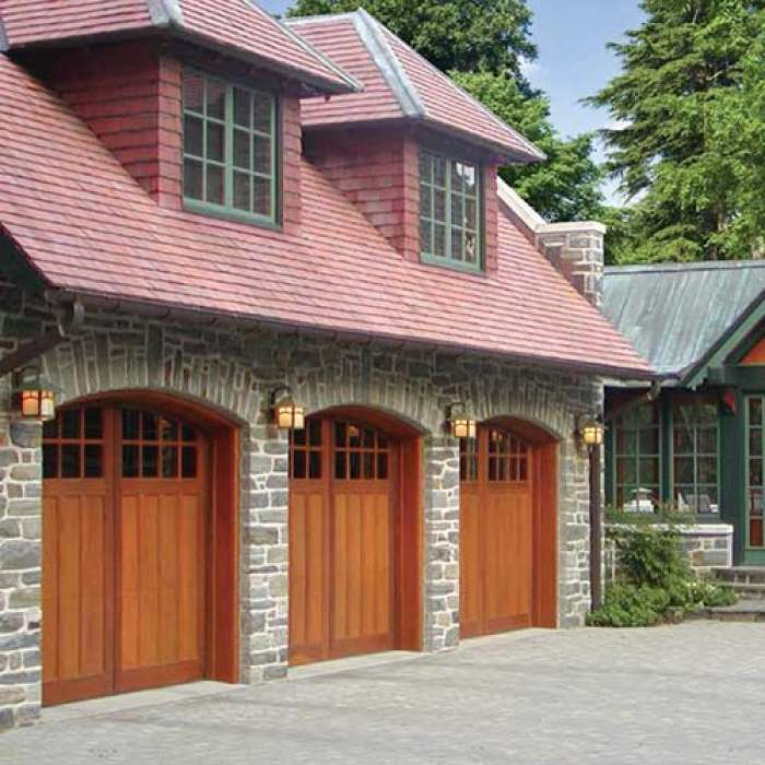 Artisan Medallion 200 Series Fine Wood Carriage Doors