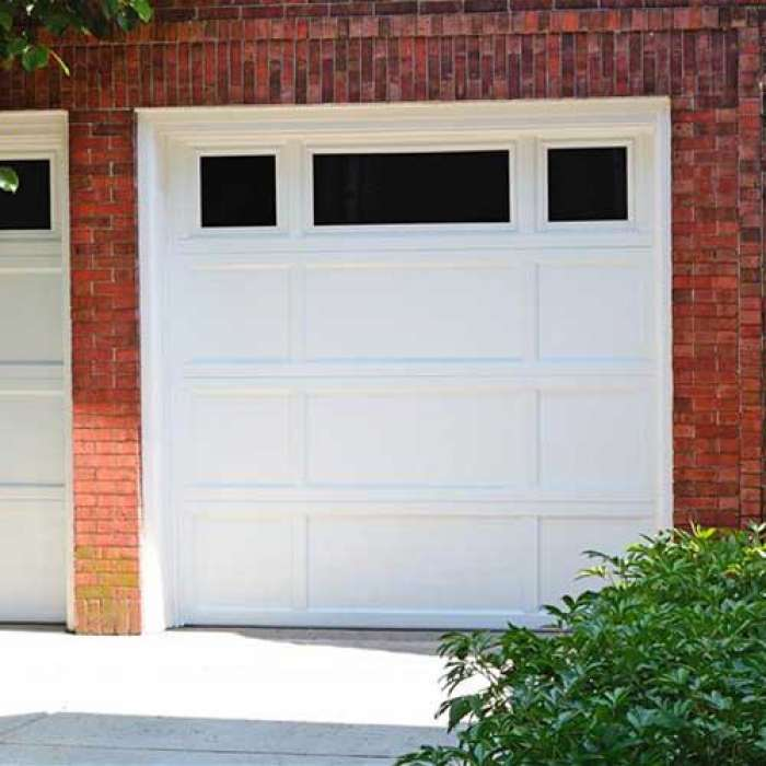 C.H.I. Recessed Panel Garage Door 2296