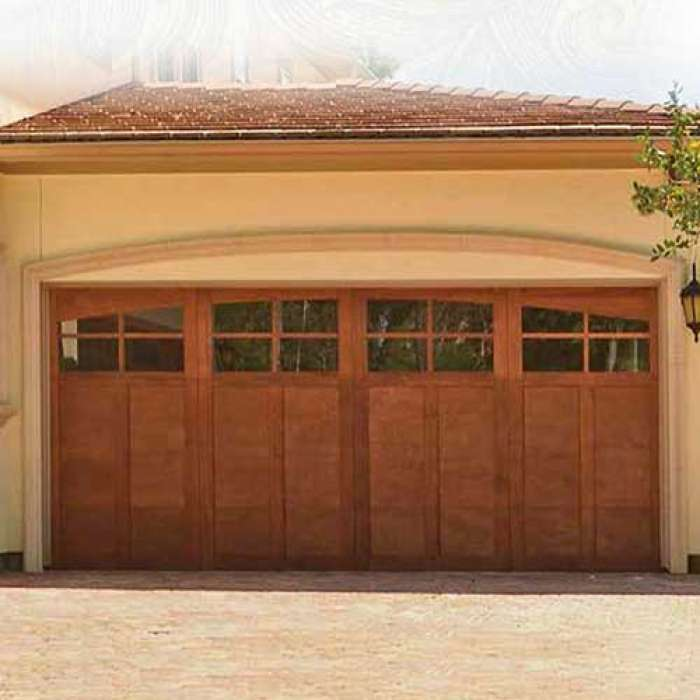 Wayne Dalton Wood Garage Doors 7400 Series