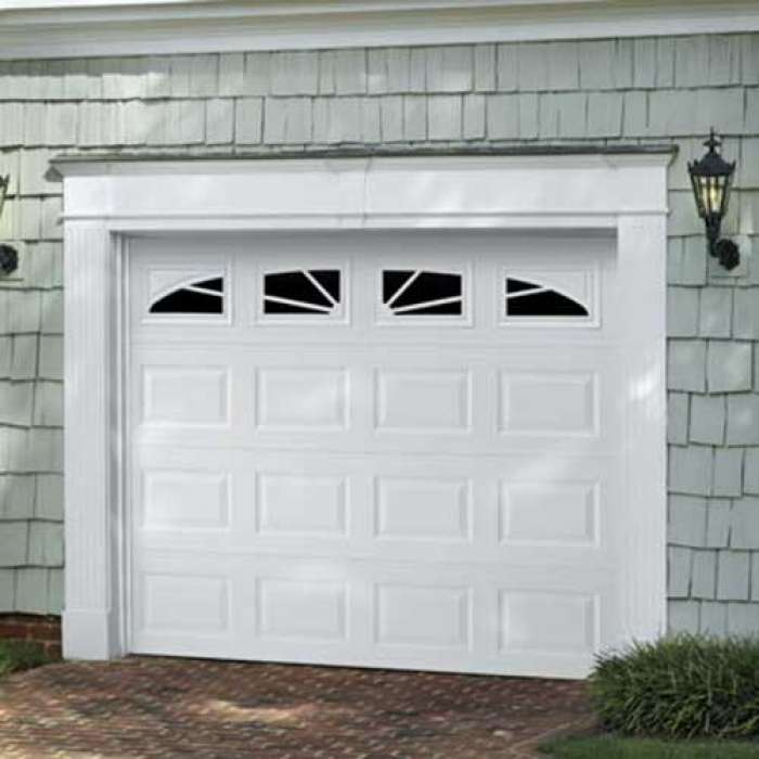 Amarr LINCOLN Traditional Steel Garage Door
