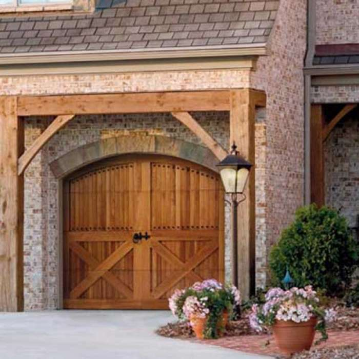 Amarr BY DESIGN Wood Doors Carriage House Garage Door