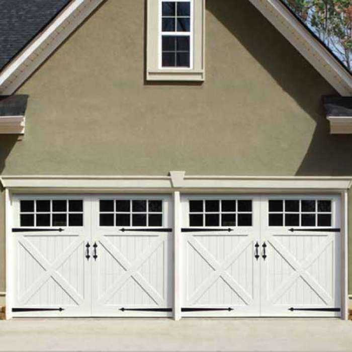 Artisan Symphony Series of Fine Vinyl Carriage Doors