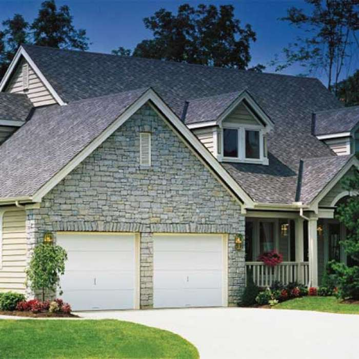 CLOPAY FLUSH PANEL WOOD GARAGE DOORS