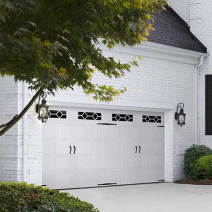 Amarr DESIGNER'S CHOICE Steel Carriage House Garage Door