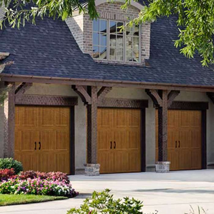 Amarr CLASSICA Steel Carriage House Garage Door