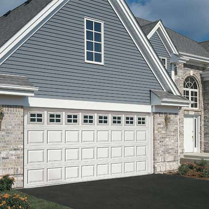 Raynor BuildMark Steel Pan Garage Door