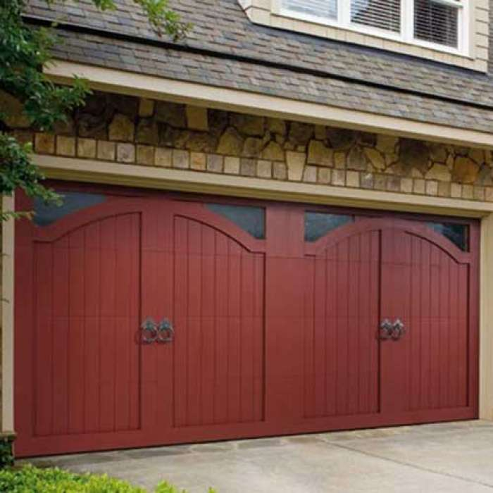 Amarr BOB TIMBERLAKE Wood Doors Carriage House Garage Door