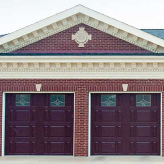 C.H.I. Raised Panel Garage Door 2701