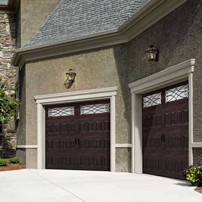 Amarr OAK SUMMIT Steel Carriage House Garage Door
